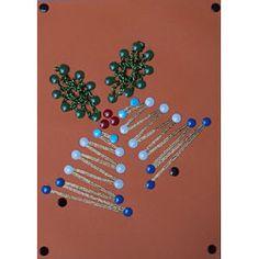 Christmas string art patterns on Pinterest   String Art, Christmas ...