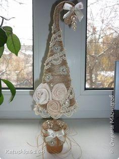 елка из шпагата