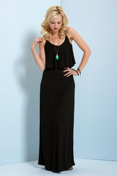 Black and turquoise; easy and elegant