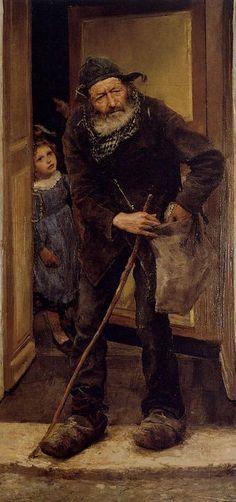 Le Mendiant, par Jules Bastien-Lepage (détail)