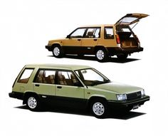 Toyota Sprinter Carib (AL25G) '08.1982–05.1986
