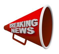 Breaking-news-loudspeaker