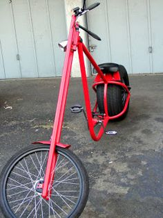 DIY recumbents, choppers, trikes, quadcycles, velomobiles, tandems, trailers, electric bikes, scooters, and the great outdoors. We have thousands of photos in our Builders Gallery, videos, and a great community of bike hackers and builders in the Atomic Zombie forum. Join our helpful bike building community & add pics of your bikes.