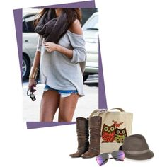 A fashion look from August 2014 featuring Golden Goose boots, Gucci hats e Le Specs sunglasses. Browse and shop related looks.