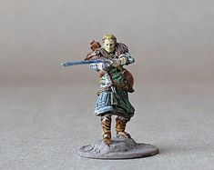 View DnD Character by ThePaintSmiths on Etsy Dungeons And Dragons Figurines, Dungeons And Dragons Miniatures, Warhammer Paint, Dragon Miniatures, Blue Magic, Dragon Figurines, Dnd Characters, Paladin, The Incredibles