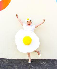 DIY Fried Egg Costum