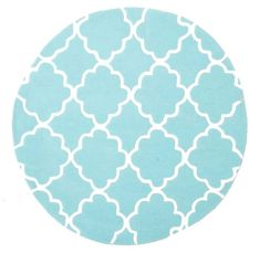 Shop online for Childrens Trellis Design Soft Blue Round Floor Rug Play Mat. Pay over time with Afterpay, zipPay or zipMoney.