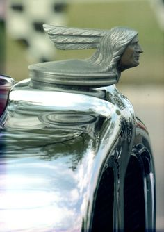 ..._1930 Pontiac hood ornament......Re-pin Brought to you by #houseofInsurance Eugene, Or.