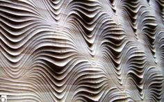 Creative cnc texture on wall  #cnc #textures  http://cnc.gallery/