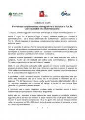 Previdenza Complementare: Da Oggi Al Via Iscrizioni Fon.Te. Per Lavoratori In Somministrazione | FeLSA CISL