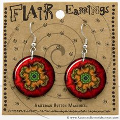 Wire Earring Button Display