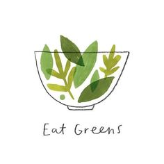 Vegetables taste 'healthy' because they are. Best the best you and eat your greens! Art And Illustration, Illustration Inspiration, Food Illustrations, Coffee Illustration, Web Design, Logo Design, Graphic Design, Brochure Design, Health Logo