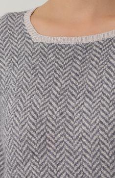Женский серый кашемировый пуловер прямого кроя Loro Piana, арт. FAG3661 купить в ЦУМ | Фото №5