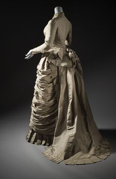 Fripperies and Fobs — Dress, 1876 From LACMA