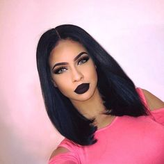 short bob straight wig Human hair lace front wigs - short bob straight wig Human hair lace front wigs Best Picture For diy projects For Your Taste Yo - Frontal Hairstyles, Wig Hairstyles, Lace Front Wigs, Lace Wigs, Lemy Beauty, One Piece Hair Extensions, Bob Cut Wigs, Natural Hair Styles, Short Hair Styles