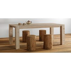 Sostanza is small #coffeetable or stool in pure wood. Made by #EssenceWood