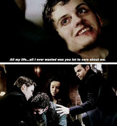 When the Mikaelsons gathered together for Kol's death and seeing those tears. I wanted to see more of them!