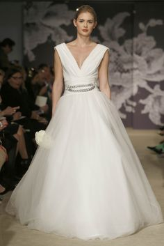Carolina Herrera Novias Primavera 2015 (New York Bridal Week)