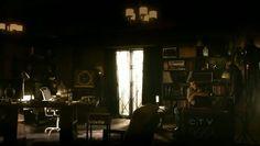 "Stefan's room.  ""Oh Stefan, such a pack rat.""  LOL."