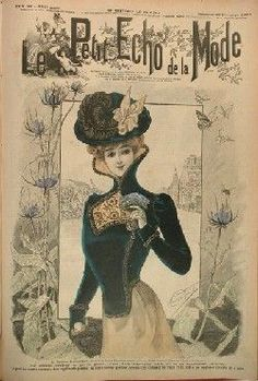 """Le Petit Echo de la Mode"" - Old french weekly about fashion"