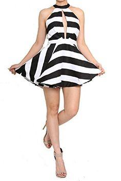 LJIF Sexy Black & White Flare Skaterdress Color Block Spring Dress Women's Sexy Hot (Medium) Let's Journey Into Fashion http://www.amazon.com/dp/B00VY257UQ/ref=cm_sw_r_pi_dp_CfeIvb00RE270