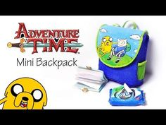 How To: Mini Unicorn Doll Backpack - Doll / Barbie Fabric Tutorial Diy Ooak Doll, Ooak Dolls, Backpack Tutorial, Unicorn Doll, Polymer Clay Miniatures, Dollhouse Dolls, Diy Accessories, Toy Store, Adventure Time