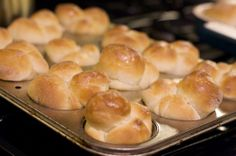Sixty-Minute Dinner Rolls with my Kitchen Aid Mixer - making now for Thanksgiving - going well so far!