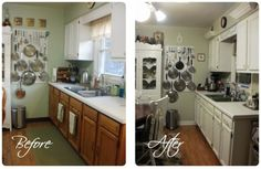 Look What Happened to My Kitchen in TWO Days!