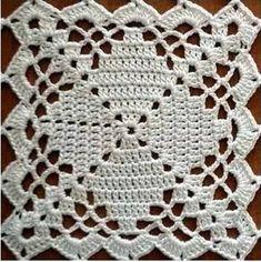 Handmade Cotton Bedspread Bed Cover Afgan Wedding Gift crochet Sleep in fashion with cotton, flannel Crochet Blocks, Granny Square Crochet Pattern, Crochet Squares, Crochet Blanket Patterns, Crochet Motif, Crochet Stitches, Granny Squares, Crochet Bedspread, Crochet Tablecloth