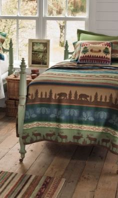 Pendleton Woolen Mills: Seneca Lake Bedding Collection