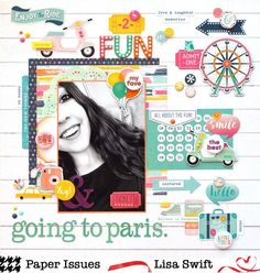 Product Spotlight: Echo Park by Lisa Swift for @paperissuesteam