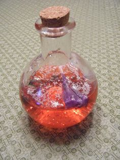 Magic potion craft! Make it into a scavenger hunt for them to find the ingredients!