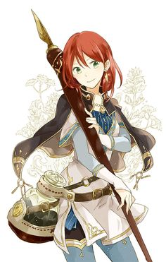 Akagami no Shirayuki hime Shirayuki Akagami Shirayuki Ancient Magus Bride, Character Design, Akagami No Shirayuki, Kawaii, Akagami No, Snow White With The Red Hair, Anime Red Hair, Cartoon, Anime Characters