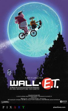 Wall-E.T. By Luke Flowers