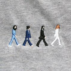 ABBEY ROAD embroidery