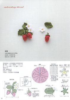 Hook một vẻ đẹp ren giống của cuộc sống - ấm áp và đáng yêu mảnh Vol 4 năm 2013 - Yu Mo - Mo Yu dệt lại vườn