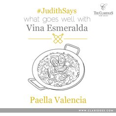 Red wine lovers don't fret- The Corte Giara Valpolicella perfectly compliments the complex and aromatic flavors of our Paella Valencia!