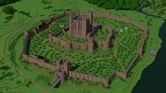 Norman castle Minecraft Project More Mehr Château Minecraft, Minecraft Castle Blueprints, Minecraft Medieval, Amazing Minecraft, Minecraft Construction, Minecraft Designs, Minecraft Structures, Minecraft Buildings, Norman Castle