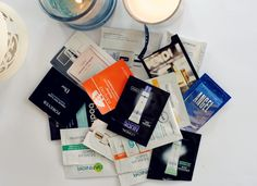 Taupe & Pearl: UK Affordable Beauty and Makeup Blog: Sample Sachet Empties