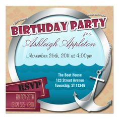wood boat dock invitations pinterest party invitations