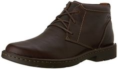 online shopping for Clarks Men's Stratton Limit Chukka Boot from top store. See new offer for Clarks Men's Stratton Limit Chukka Boot Mens Fashion Shoes, Sneakers Fashion, Fashion Wear, Clarks, Jungle Boots, Black Leather Ankle Boots, Brown Leather, Bowling Shoes, Cool Boots
