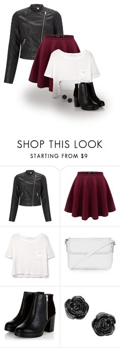 """""""Let's do this"""" by abigaillieb ❤ liked on Polyvore featuring Lipsy, MANGO and Topshop"""