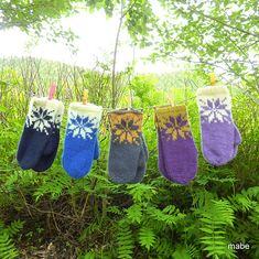 mabe58's Iskalde farger votter / February mittens