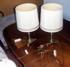 Messing, Table Lamp, Lighting, Home Decor, Bedside Lamp, Household, Light Fixtures, Nice Asses, Lamp Table