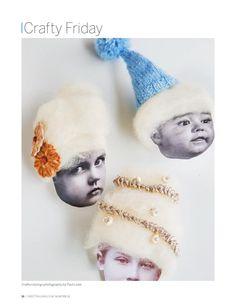 Hairy DIY Keepsake Ornaments | Sweet Paul #23 - Holiday/Winter 2015