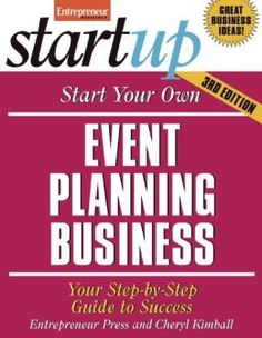 start your own event planning business - Google Search