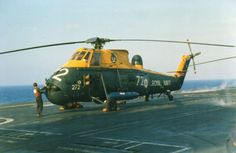 WESSEX HAS3 XP139/H272 814 SQN Military Helicopter, Military Jets, Military Aircraft, British Armed Forces, Navy Aircraft, Engin, Flight Deck, Royal Navy, Cold War