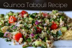 Quinoa Tabouli With Parsley & Mint (Must-Try Recipe!)