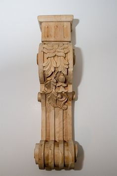 Solid Oak Shelf or Fireplace Mantel Corbels door DovetailArtistry