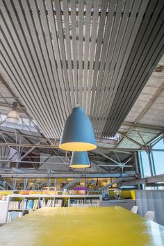 HeartFelt™ Ceilings & Walls installed at IMd Raadgevende Ingenieurs in Rotterdam, Zuid-Holland, Netherlands and designed by Hunter Douglas Architectural. Hunter Douglas, Recycling, Dental Laboratory, Office Interiors, Architecture Design, Felt, Ceilings, Building, Walls